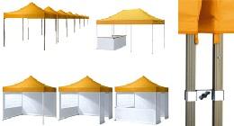 Zelte für die Gartenparty